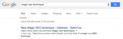 Magic seo